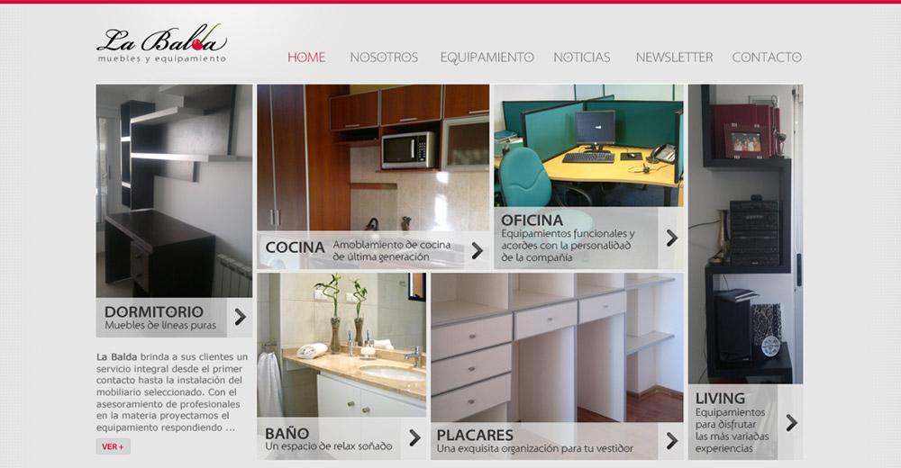 La Balda – Sitio Web
