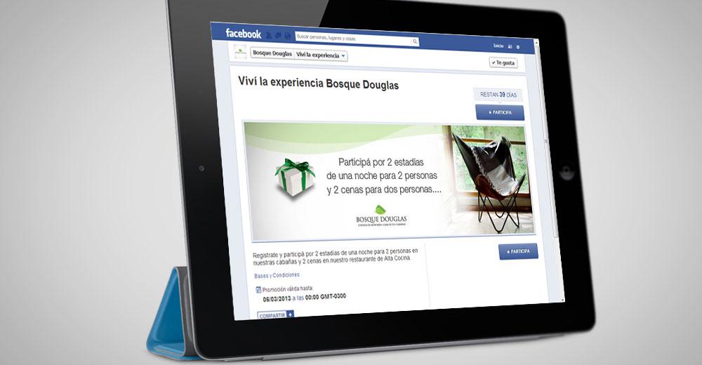 Bosque Douglas – Concurso Facebook