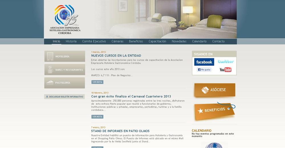 Asociación Hotelera Gastronomica Cordoba