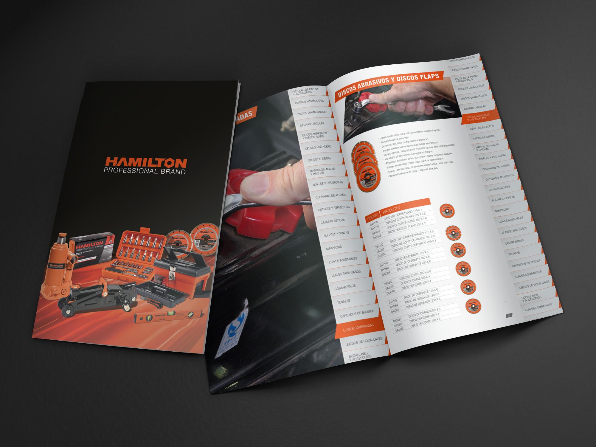 HAMILTON – Catálogo